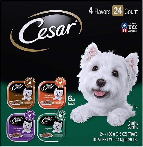 Cesar Gourmet Wet Dog Food Variety Packs