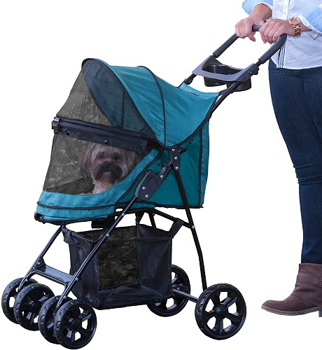 Pet Gear Happy Trails Pet Stroller for Cats Dogs