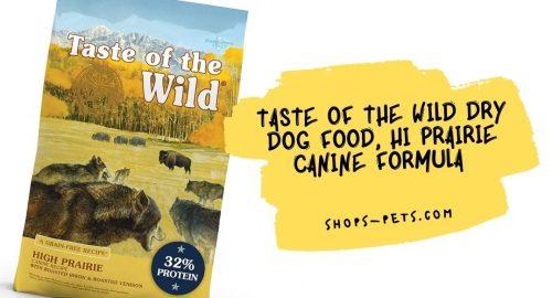 Taste of the Wild Dry Dog Food, Hi Prairie Canine Formula